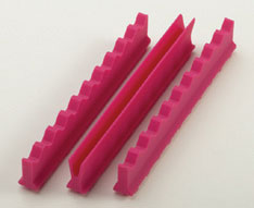 Nordent Fuscia Silicone Instrument Holder Set, 4""