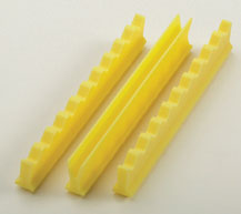 Nordent Yellow Silicone Instrument Holder Set, 4""