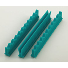 "Nordent Teal Silicone Instrument Holder Set, 4"", Holds 16 Instruments, Includes"