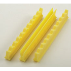 "Nordent Yellow Silicone Instrument Holder Set, 5"", Holds 10 Instruments"