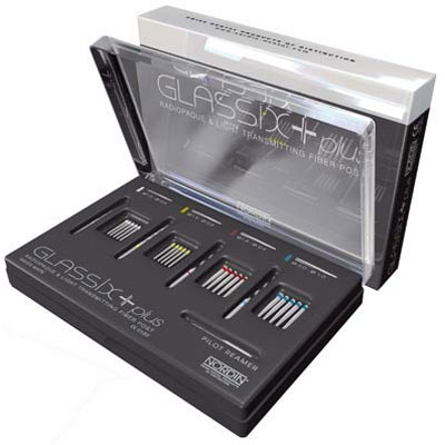 Glassix Plus Kit: 20 Posts (5 of each size), 4 Reamers (1 ...