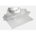 "Nu Radiance EVA 0.040 5"" x 5"" Sheets 75/Pk. For forming custom mouth trays"