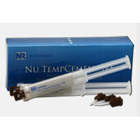Nu TempCement NE, Non-Eugenol Polymeric Temporary Cement - 2 Syringe Kit