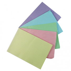"ODS Purple Plain Rectangle bib (13"" x 18"") 2 ply"