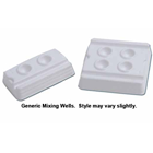ODS 4-Well Disposable Mixing Well, box of 200 Mixing Wells