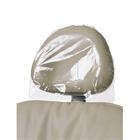 "ODS 10"" x 14"" Clear Plastic Headrest Covers, Box of 250"