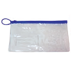"Oraline Clear Plastic Zippered Bag, 6"" x 10"", Large, 100/cs"