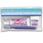 Oraline Periodontic Kit, Includes: 0.85 oz Toothpaste, Travel Toothbrush