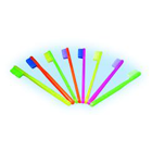 Rainbow brushes Rainbow kids soft toothbrush with 27 bristles on a straight