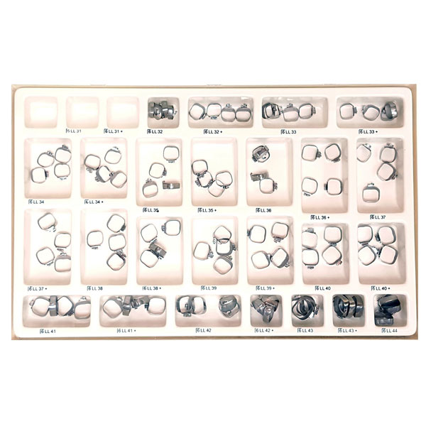 OrthoExtent Orthodontic EZ Fit 1st Molar Band Kit