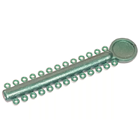 OrthoExtent Orthodontic Ligature Ties Green Pearl. 26 ties on each stick. 1040