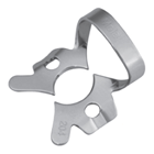 Osung #204 Rubber dam clamp, posterior for children, stainless steel single
