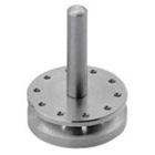Osung Bur Stand, Stainless Steel, Round, Holds 10 FG burs