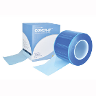 "COVER-IT 4"" x 6"" Barrier Film - Blue, with Adhesive Back. Roll of 1200"