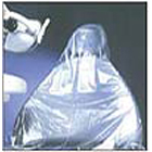 "Mark 3 Half Chair Cover, Clear Plastic, 27 1/2"" x 24"", package of 225"