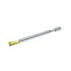 "Pac-Dent Bur Cleaning Brush 4 3/4"" x 5/16"", telescopic adjustable handle, brass"