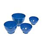 Pac-Dent Autoclavable Flexible Blue Silicone Mixing Bowl, Medium - 500 ml