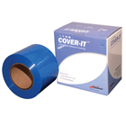 "Pac-Dent 4"" x 6"" Barrier Film - Clear, with Adhesive Back. Roll of 1200"