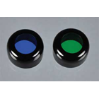 Bryte-Syte Headlight Filter: blue/green curing (for use item #4000) filters
