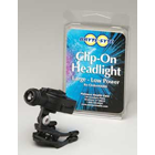 Bryte-Syte Headlight, Wireless LED Clip-On. Low Power, Aims a bright, white LED