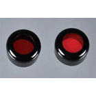 Bryte-Syte Headlight Filter: Filter: red/amber curing (for use with item #4000) filters prevents