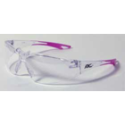 Chic Eyewear - Clear Lens & frame with Pink Tips. Designed to fit smaller, more