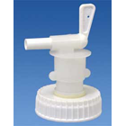 DisAseptic XRQ Reusable Spigot, Fits 2.5 gallon bottles. Lock open handle