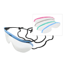 Dynamic Disposables Dynamic Disposable Eyewear Value Pack. Frame fits flush