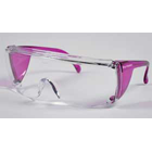 End-Fog Eyewear - Purple Frames with Clear Lens, Extra anti-fog coating sets
