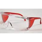 End-Fog Eyewear - Red Frames with Clear Lens, Extra anti-fog coating sets apart