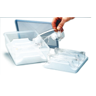 Eyesavers DisinfectingTray without Eyewear. System contains 2 holding racks