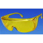 Eyesavers Protective Safety Glasses - Yellow Frame/Yellow Lens. Economical
