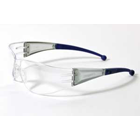 Flare Eyewear - Clear Lens with Blue Tips. Sleek, comfortable and economical