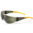 Flare Eyewear - Grey Lens with Yellow Tips. Sleek, comfortable and economical