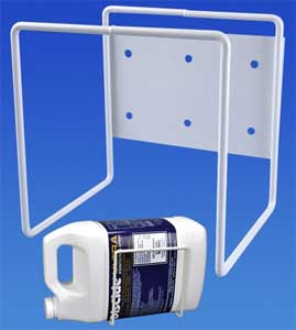 Hold-It Square Gallon Bottle Holder, Table Top, M