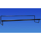 "Hold-It Jumbo Roll Dispenser Rack 36"" - Sturdy construction can hold heavy"