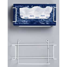 Hold-It Rectangular Tissue Box Holder, Perfect for placement in the operatory