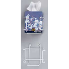 Hold-It Square Tissue Box Holder, Perfect for placement in the operatory, restroom or anywhere