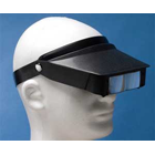 "Magni-Visor, ""Hands-free"", 2X magnifier with an additional 3X, built-in"