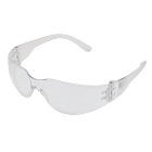 Mini Econo Wrap Eyewear - Clear Frame / Clear Lense. Lightweight