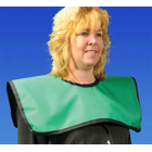 "Palmero Adult Cling Shield Pano-Cape Apron, Royal, 23 1/2"" x 7 1/2"", Lays over"
