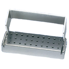 Palmero 30-Hole FG Anodized Aluminum Bur Block. Holds 30 FG Burs. Can be