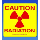 Palmero Caution Radiation Label, OSHA Compliance Label systems for all