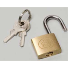 Palmero Brass Padlock item #109L Locking Canister Holder, Perfect for placement