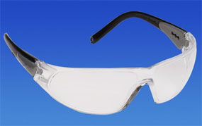 Pro-Vision Contour Wrap Eyewear - Clear Lens and