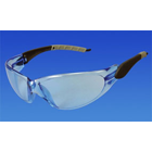 Pro-Vision Contour Wrap Eyewear - Ice Blue Lens and Black/Grey Frame