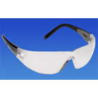 Pro-Vision Contour Wrap Eyewear - Clear Lens and Black Frame. Adjustable