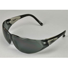 Pro-Vision Contour Wrap Eyewear - Grey Lens and Black Frame. Adjustable