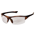Sportin Eyewear, 2.5 Diopter Bronze Frame / Clear Lens. Great style