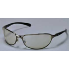 Vector Eyewear Safety Glasses - Black Frame w/Indoor Outdoor Lens. Lightweight